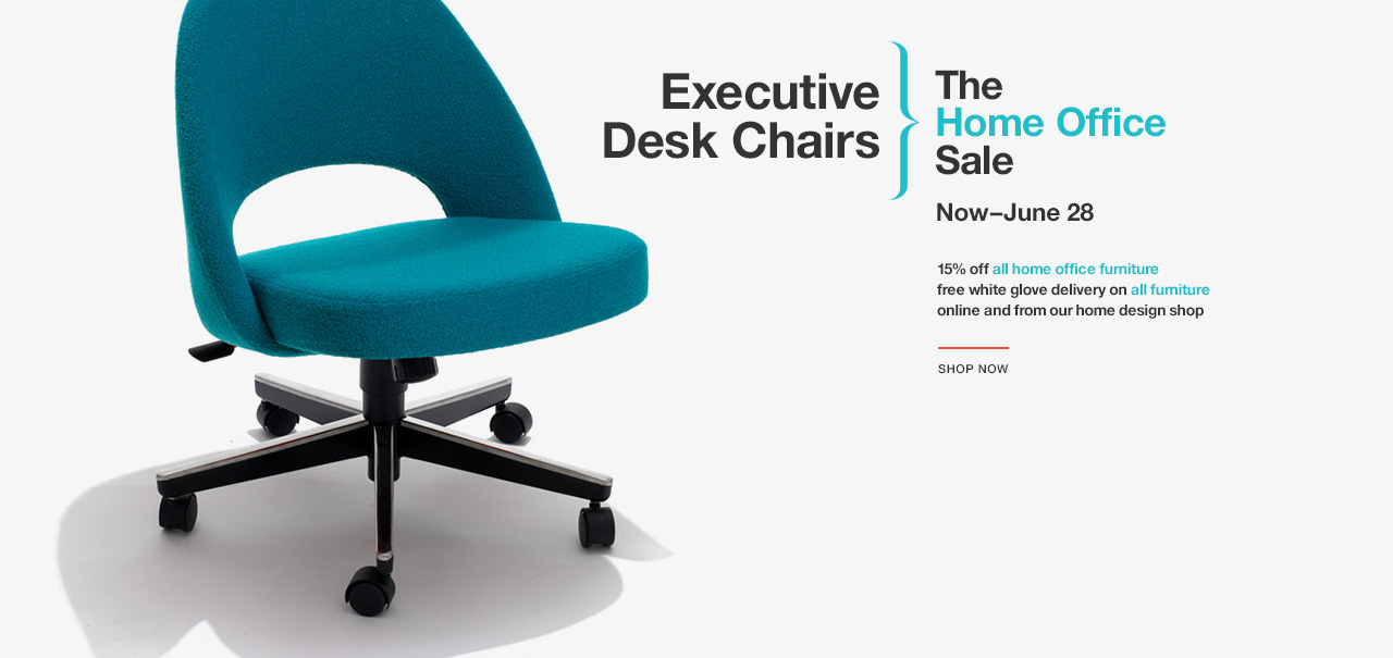 Shop Executive Desk Chairs. The Knoll Home Office Sale. Now–June 28