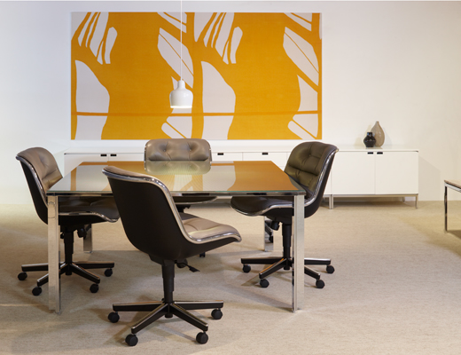 LSM Conference Table with Pollock chairs at NeoCon 2011