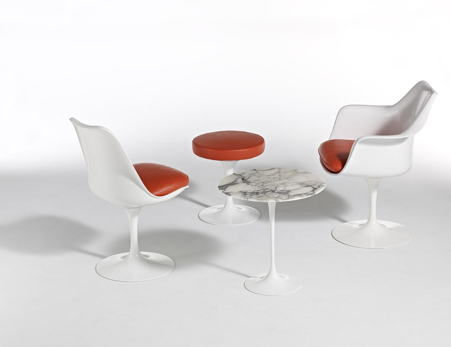 Tulip arm chair knoll - Sedia tulip knoll ...