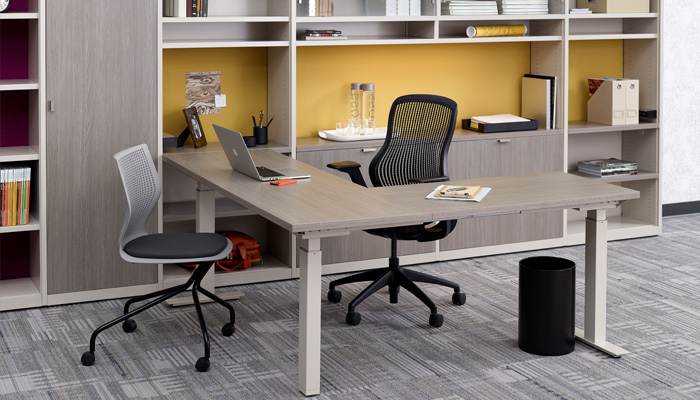 Tone Brings The Benefits Of A Sit To Stand Desk To All Areas Of The Office,  Including Private Offices. Tone Bases Support All Standard Knoll  Worksurfaces To ...