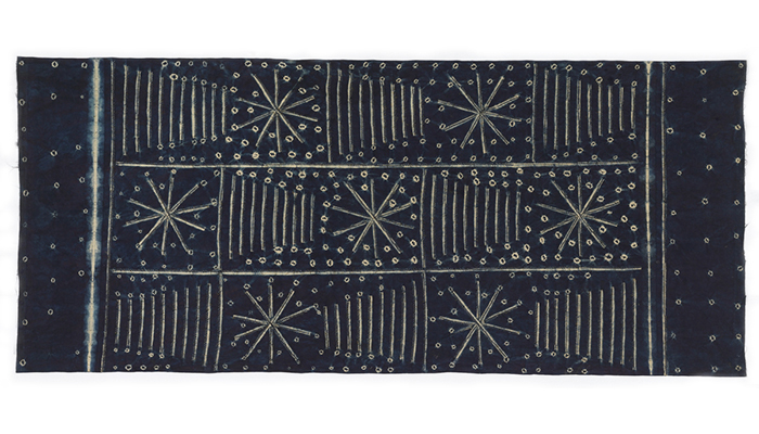 Adire Wrapper from the Yoruba peoples, Nigeria, c. 1960 from David Adjaye Selects.