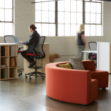 Anchor Storage ReGeneration High Task Chair  k. lounge