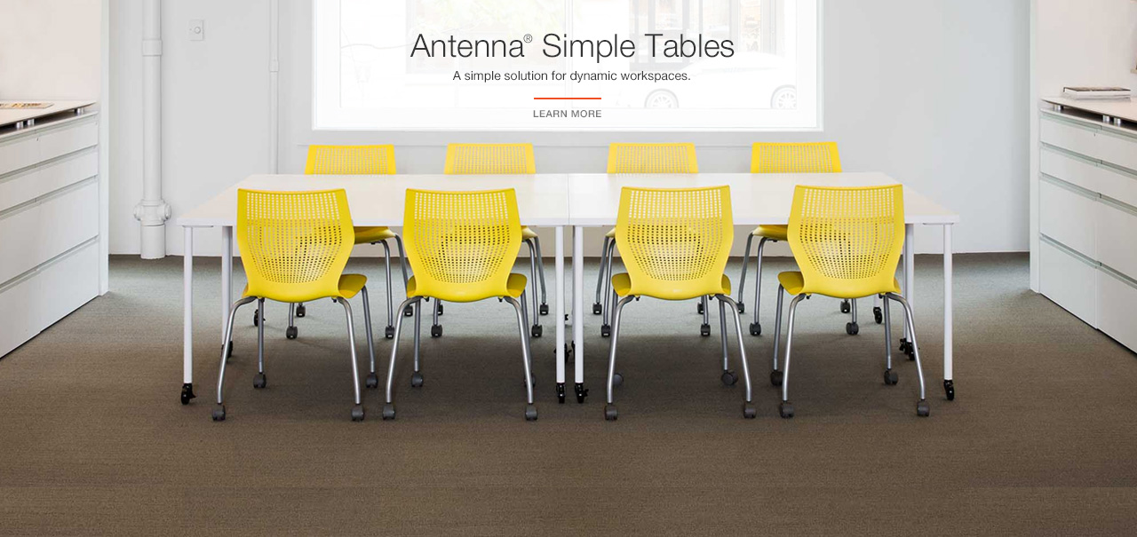 Introducing Antenna Simple Tables: A simple solution for dynamic workspaces.