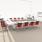 Knoll Antenna Mobile Tables for Training Rooms