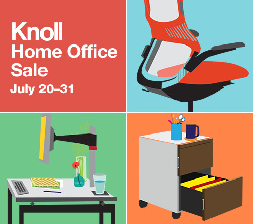 Knoll Home Office Sale july 20-31