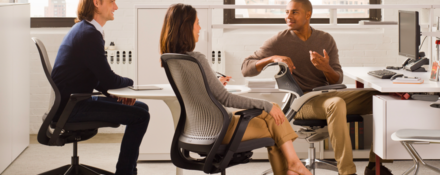 Shop Knoll Work Chairs and Office Seating for Small and Medium-sized Businesses