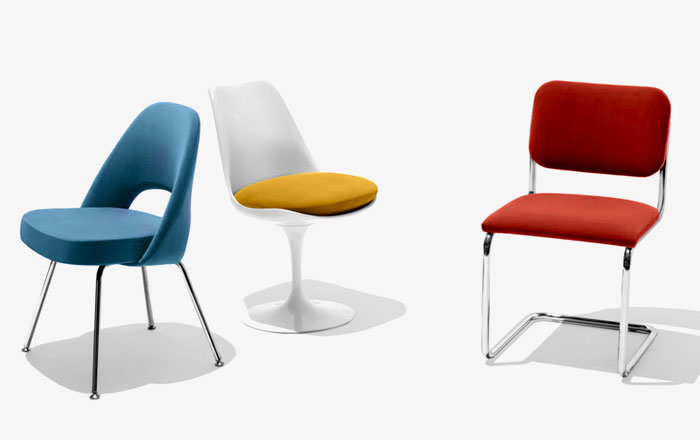 Knoll Dining and Side Chairs