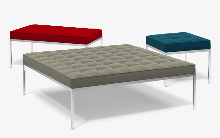 Knoll Modern Benches & Ottomans