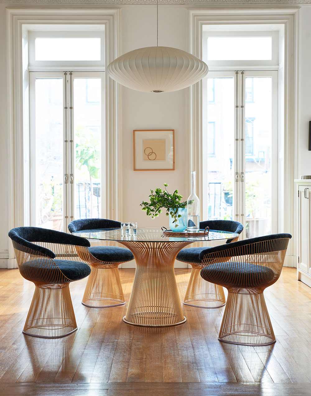 Knoll Dining Room Furniture with Platner Collection