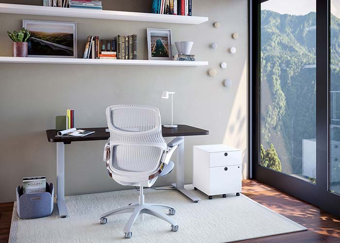Knoll Work from Home and Home Office Furniture Inspiration