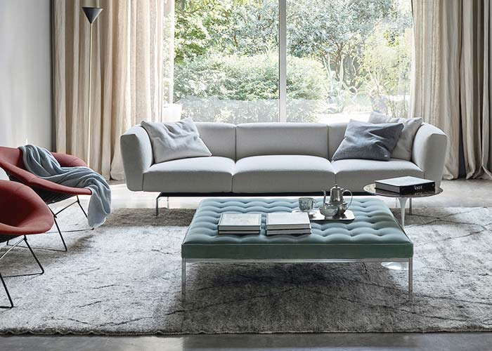 Knoll Living Room Benches & Ottomans
