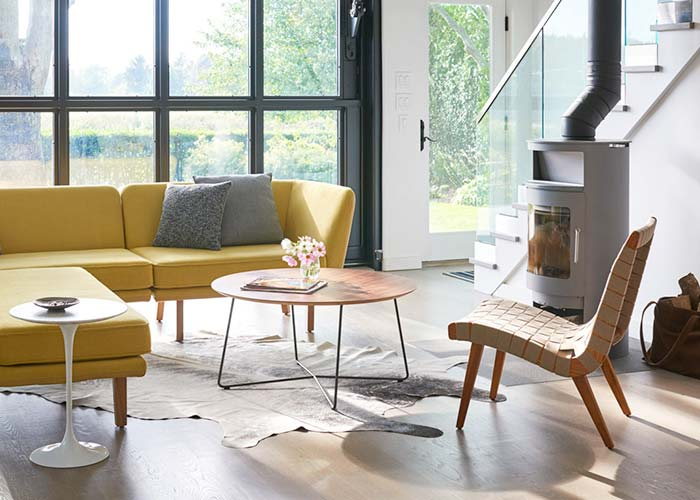 Shop Knoll Living Room Side and Coffee Tables