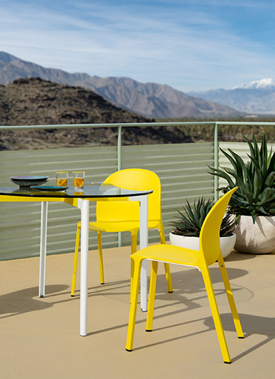 Shop Knoll Modern Outdoor Dining Chairs