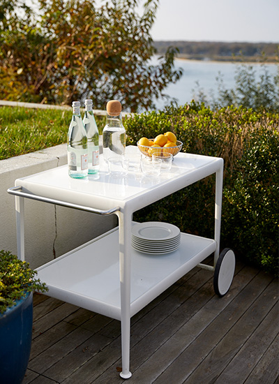 Shop Knoll Modern Outdoor Side and Coffee Tables