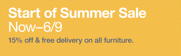 Knoll Start of Summer Sale: 5/21 – 6/9