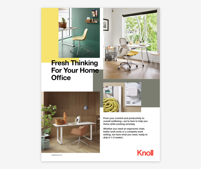 Fresh Thinking for your Home Office