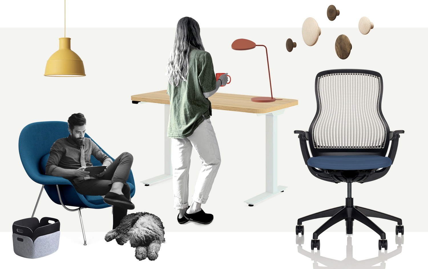 Knoll + Muuto Work from Home