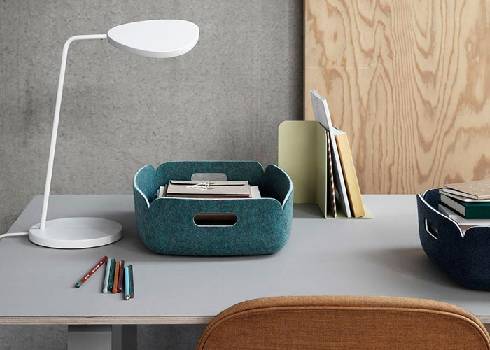 Knoll and Muuto Lighting and Accessories for Working from Home