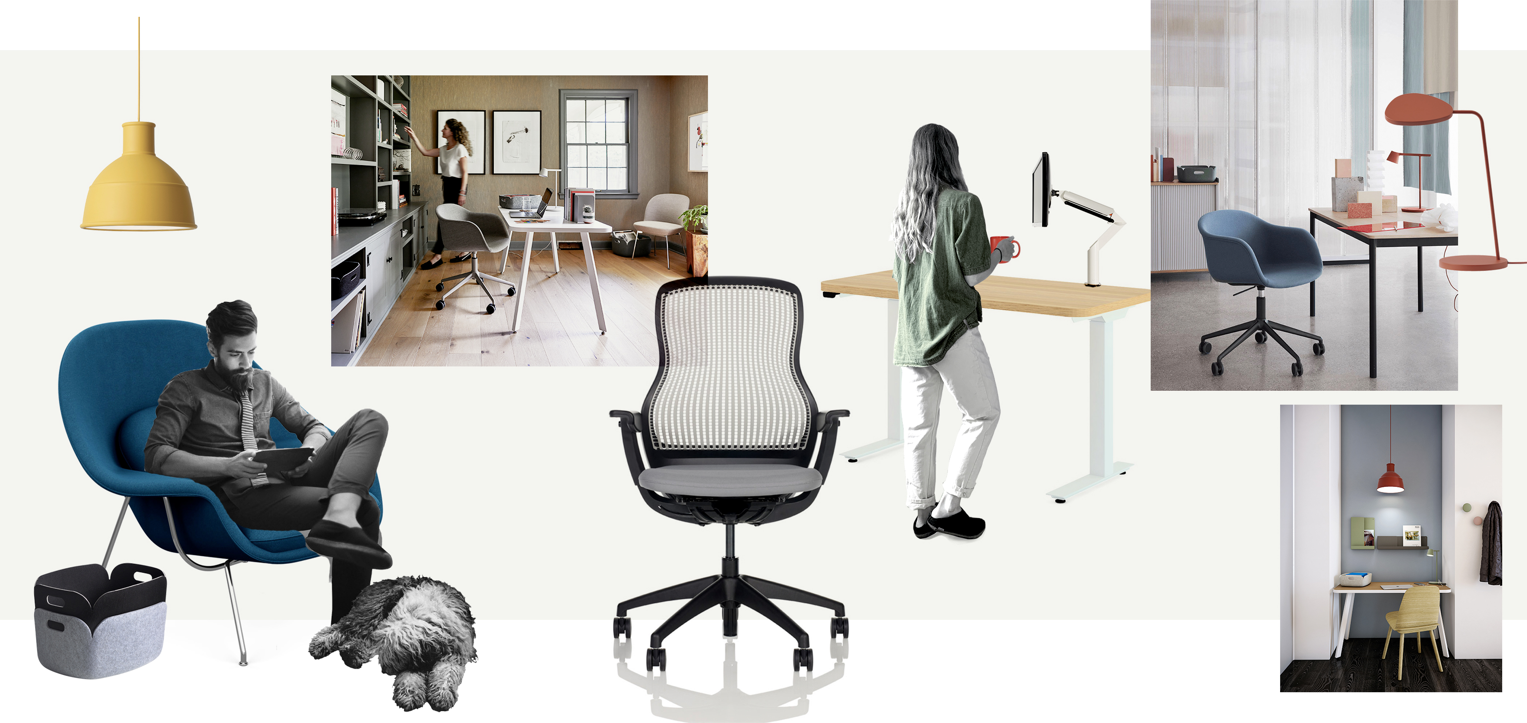 Knoll + Muuto Work from Home Office Products the Ship 1-3 Days