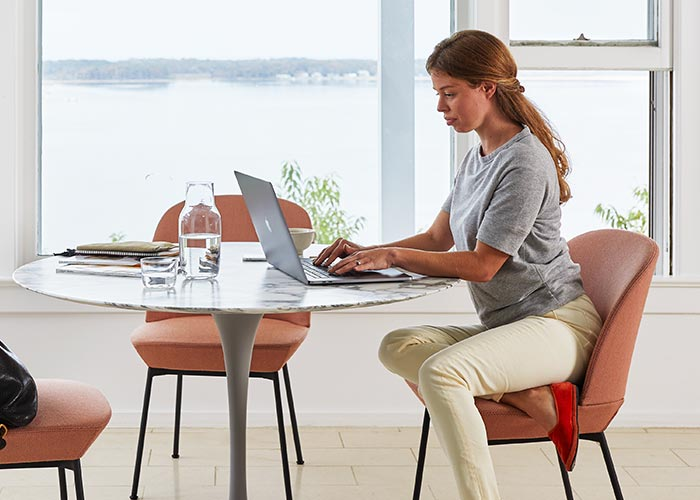 Knoll Side Chairs and Stools for Working from Home
