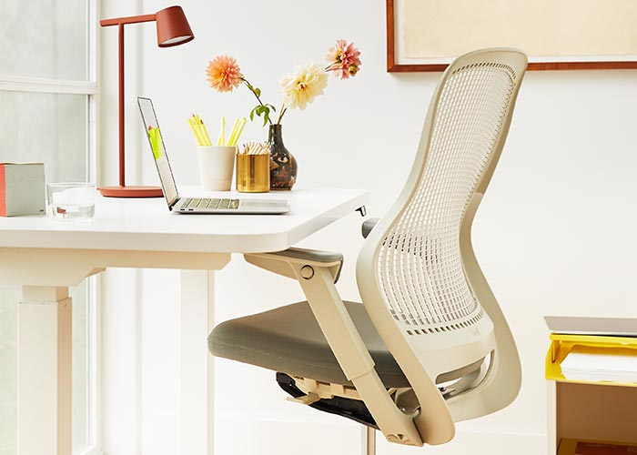 ergonomic table and chair
