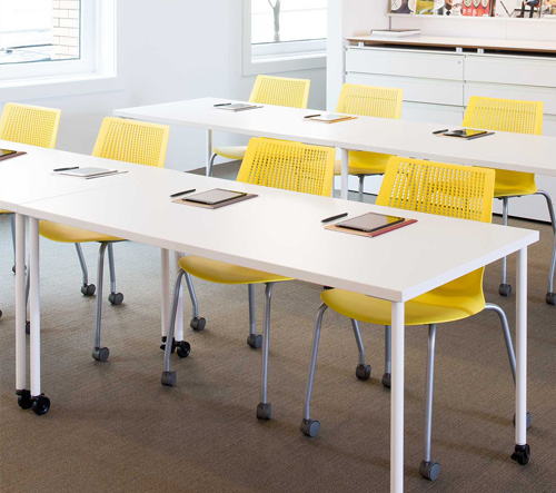 Classroom Furnitures ~ Training classroom furniture design and plan knoll