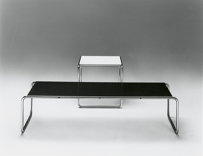 Marcel Breuer's Laccio Coffee and Side Table
