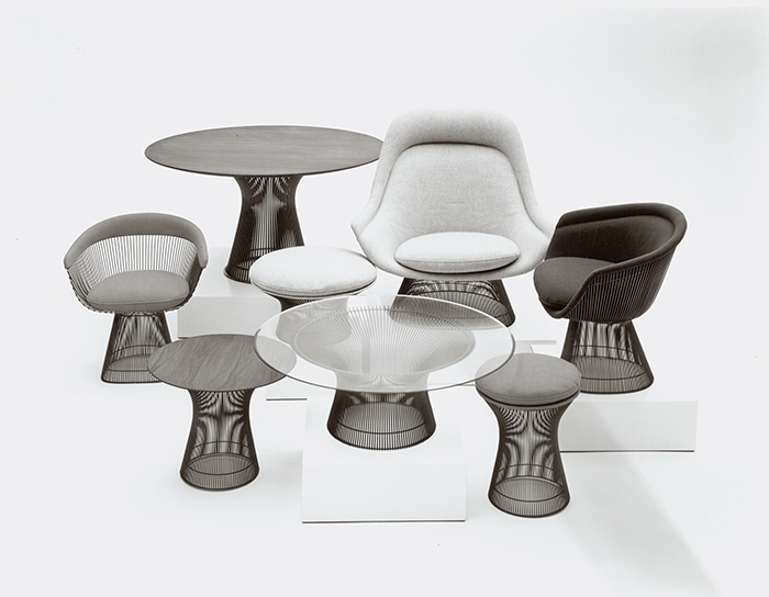 Warren Platner Furniture Throughout Warren Platner Knoll