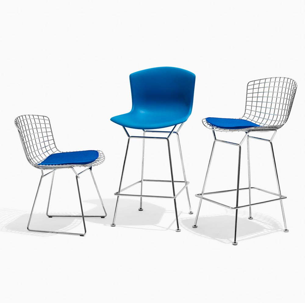 KnollStudio Authentic Bertoia Chairs