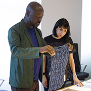 David Adjaye & Dorothy Cosonas