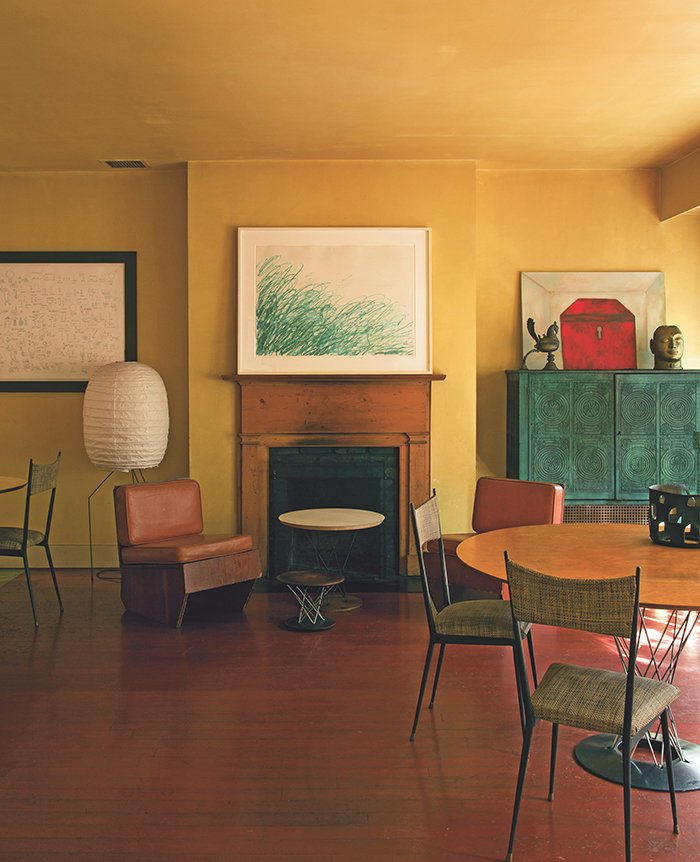 Artists Living With Art | PC: Abrams | Knoll Inspiration