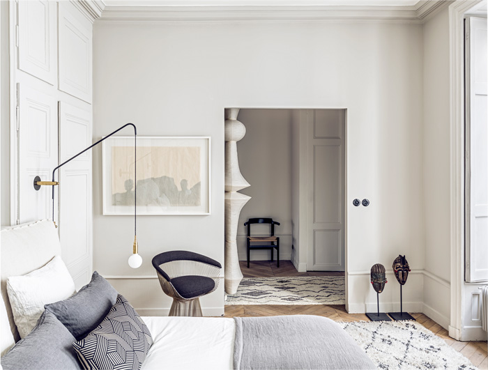 for their lyon based studio and boutique maison hand interior designers pierre emmanuel martin and stphane garotin outfitted a bare loft as if it were a