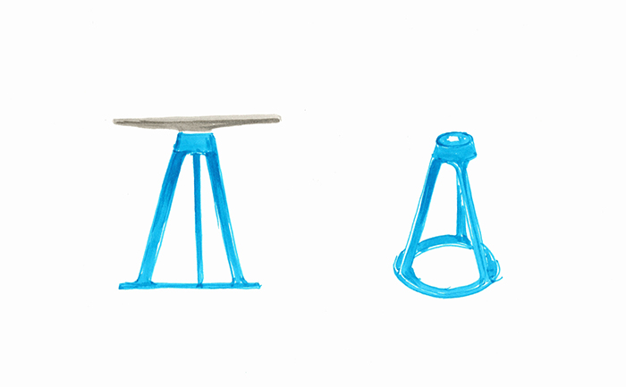 Barber Osgerbys Piton? Adjustable Height Stool for Knoll, 2015 ...