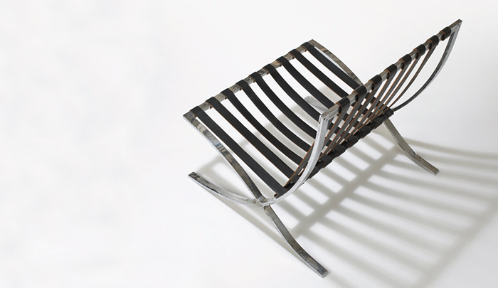 Design Deconstructed The Barcelona Chair |The Barcelona Chair c. 1931 as produced. u201c & Design Deconstructed: The Barcelona Chair | Knoll Inspiration