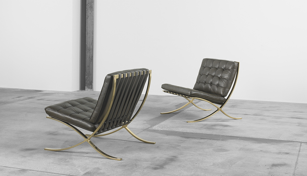 Incroyable Design Deconstructed: The Barcelona Chair | The Barcelona Chair In Bronze,  C. 1970s
