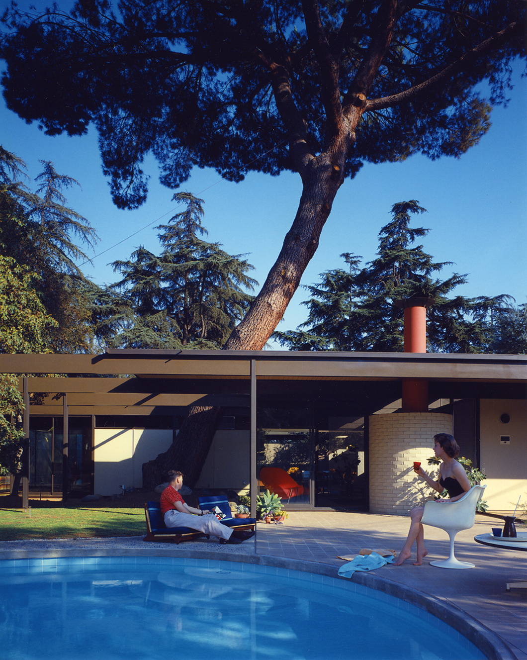 Case Study House #20 (Bass House) by Julius Shulman