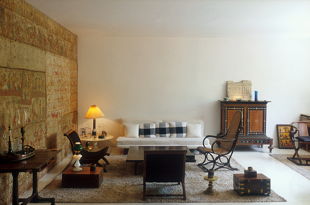 Number 11 Residence by Geoffrey Bawa | PC: Geoffrey Bawa Trust | Featured: Saarinen Tulip Chairs