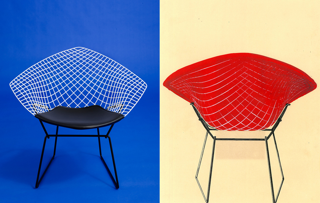 Bertoia Two-Tone Reissue (2016) vs. Vintage (1953) | Knoll Inspiration