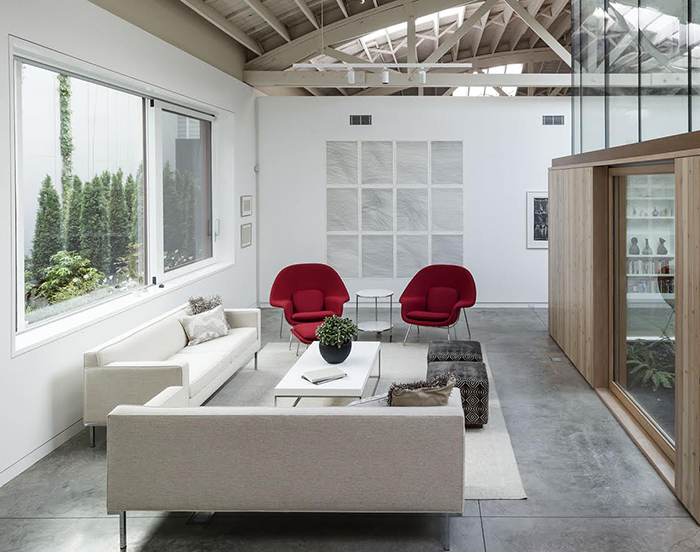 Bowstring Truss House in Portland, OR by Works Partnership Architects | Knoll Inspiration
