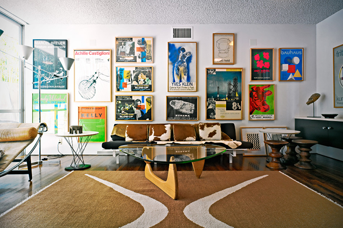 Michael Boyd's residence in Santa Monica, California | Isamu Noguchi's Cyclone Side Table | Oscar Niemeyer's Strick House | Knoll Inspiration