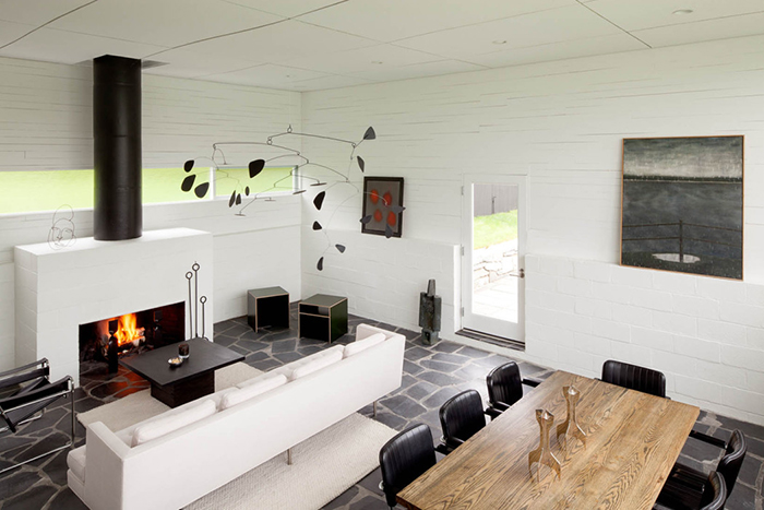 Marcel Breuer's Stillman House in Litchfield, Connecticut, 1951 | Cesca Chair and Wassily Chair | Knoll Inspiration
