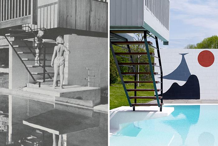 Marcel Breuer's Stillman House in Litchfield, Connecticut, 1951 | Knoll Inspiration