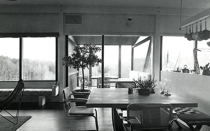 Marcel Breuer's Stillman House in Litchfield, Connecticut, 1951 | Cesca Chair | Knoll Inspiration