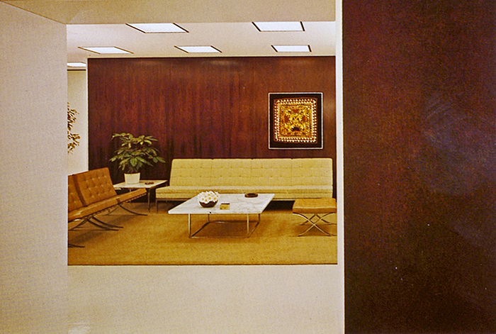 Another CBS interior designed by Florence Knoll | PC: Knoll Archive | Knoll Inspiration