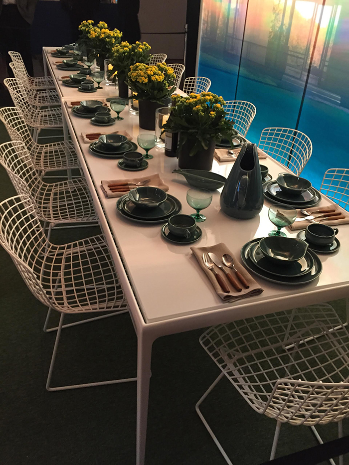 DIFFA Dining by Design featuring 1966 Table and Bertoia Side Chair ​by Gensler, 2015.