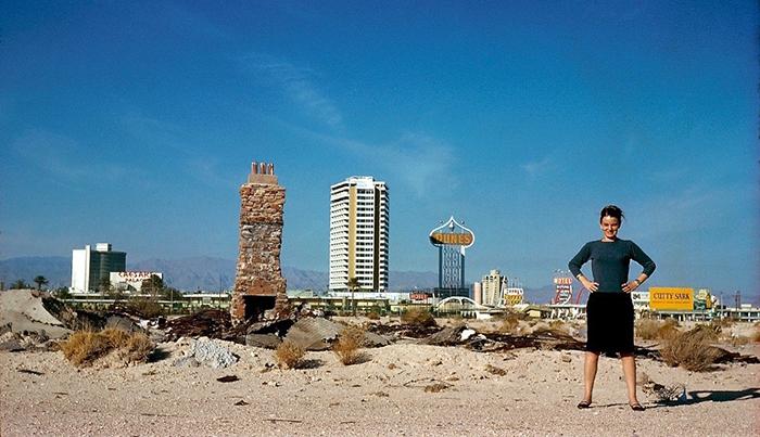 Denise Scott Brown in Las Vegas, c. 1972 | PC: Denise Scott Brown, Graham Foundation | Knoll Inspiration