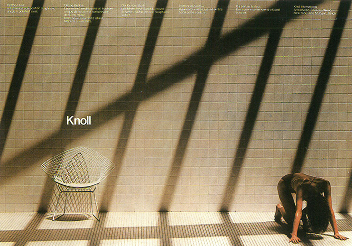 The Art Direction of Wolf Kaiser | Product: Harry Bertoia Diamond Chair | PC:  Don Kennedy | Knoll Inspiration