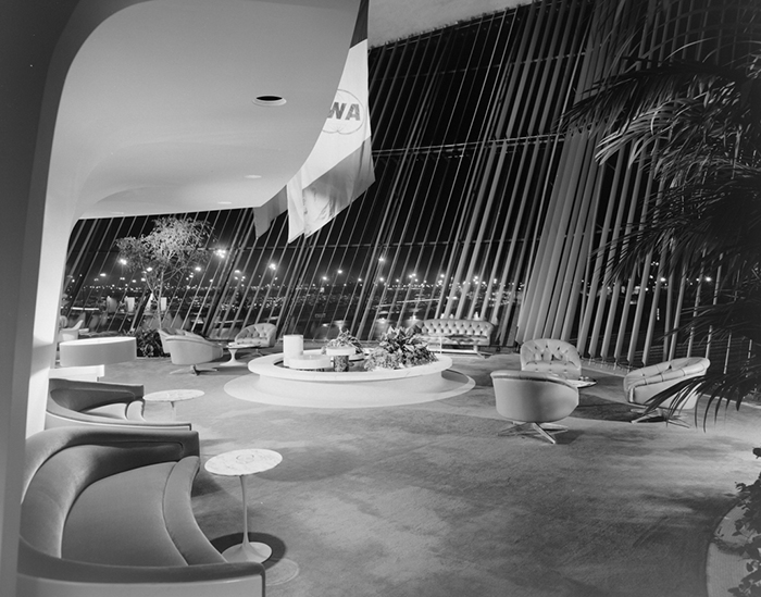 TWA Terminal at JFK by Ezra Stoller, 1963 | PC: <em>Visual Acoustics</em>, an Arthouse Films release 2009. © J. Paul Getty Trust | Knoll Inspiration