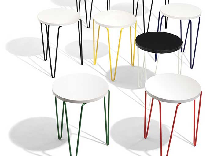 Introducing the Florence Knoll Hairpin™ Stacking Table | Knoll Inspiration