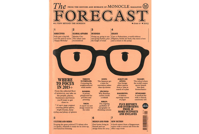 Monocle: The Forecast, 2015 | Recommended Reading: Design 101 | Knoll Inspiration